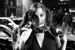 Snake charmer (El Cheech) Tags: reptile snakelady alley lastreets streetshoo blackandwhite blackandwhitephotography photography nightshoot steermeet downtownla dtla downtownlosangeles downtown losangeles tftila tfti photomeet photoshoot costume makeup death skull snakegirl snake snakecharmer