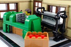The LEGO® Story - AFOL Designer Program (BrickJonas) Tags: lego bricklink afol designer program story factory moulding machine workshop wooden duck