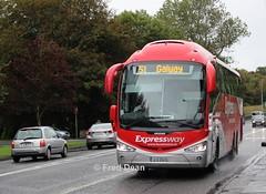 Bus Eireann SE15 (12D20478). (Fred Dean Jnr) Tags: buseireann se15 12d20478 olddublinroadgalway september2016 galway buseireannroute51 scania irizar i6 expressway triaxle