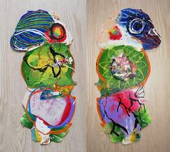 pla-bird2 (Albert_Roos) Tags: recycle sculpture print waist 3d filament colofull colorfullsculpture