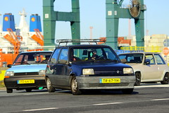 1988 Renault 5 TL + 1986 Renault 5 Automatic + 1988 Renault 5 GT Turbo (Dirk A.) Tags: tr67yh pz64tl th60yl onk 1988 renault 5 gt turbo 1986 automatic tl