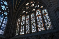 DSC_4521_2_3_4_5_tonemapped (IMX2019) Tags: art light cathedral old interior masonry god religion pulpit nave organ photo picture decoration shadows nikon d500 d700 35mm 1755mm zeiss nikkor exeter candle