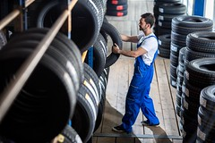 Car Tyres Shop in Wetheril Park Sydney (tyreland.sydney) Tags: auto mechanic car tire store looking shop clipboard check uniform stack smiling tyre salesman blue new automobile wheel service vehicle workshop sale garage black maintenance rubber technician male repair man transportation isolated pile person heap profession fix control expert repairman background job work wear tool examining holding replacement