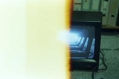 Inception. (AloysiaVanTodd) Tags: cinestill cinestillfilm cinestill800 photography art artist negativefilm colors vintage burned analog
