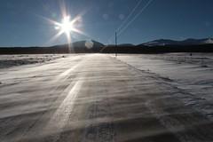 Winter Driving (lars hammar) Tags: road colorado fairplay snow winter