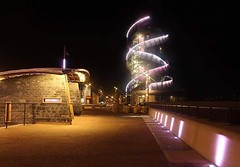 """My photo from when I braved Redcar sea front one evening with my @vanguardphotouk Alta Pro 2+ tripod #Redcar #Pier #Lights #Photography #VanguardAmbassador #vanguard • <a style=""""font-size:0.8em;"""" href=""""http://www.flickr.com/photos/152570159@N02/46093504725/"""" target=""""_blank"""">View on Flickr</a>"""