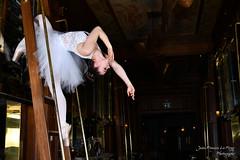 CHA_9730 (jeanfrancoislaforge) Tags: koz nikon échelle ladder château frontenac châteaufrontenac d850 ballerine ballerina restaurantlechamplain québec québeccity beauté beauty femme woman