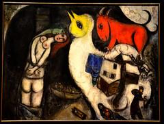Les Amoureux au poteau (RarOiseau) Tags: aixenprovence paca peinture chagall musée bouchesdurhône
