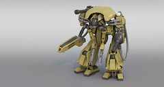 A.L.N. (Garry_rocks) Tags: lego mecha unl undead neutron liquidator tehnolog cyborg alien robocop