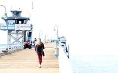 OOPS (Kerri Lee Smith) Tags: sanclemente beach pier highkey overexposed negativespace vacation californina