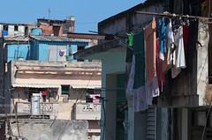 Curazao Clothesline (peterkelly) Tags: digital canon 6d cuba northamerica gadventures cubalibre havana casacurazao oldhavana building laundry clothesline clothes