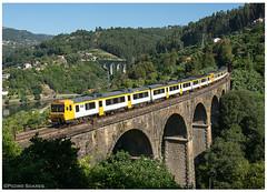 Ribadouro 22-07-18 (P.Soares) Tags: comboio cp comboios caminhodeferro automotora automotoras linha linhas 592 diesel douro