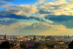Rome   Italy (maryduniants) Tags: rome italy clouds cityscape europe