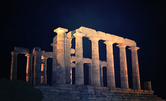 Temple of Poseidon | Sounion (born to be an artist) Tags: temple poseidon architecture ancient greece culture sounion archeology