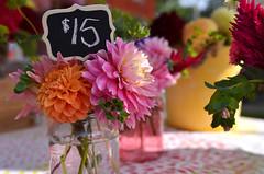 $15 for a Little Bit of Summer (Kim Yokota) Tags: wychwoodbarnesfarmersmarket august2018 summer artscapewychwoodbarns torontoontario canada nikond7000 nikonafsnikkor24mmf14ged flowers pretty chrysanthemums