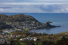 Pedro Point from the Baquiano Trail. Pacifica, CA. (j1985w) Tags: pacifica california baquianotrail ocean sky clouds pedropoint