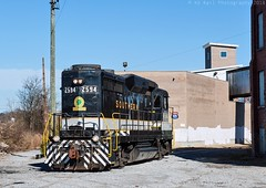 SR 2594 at Chattanooga, TN (KD Rail Photography) Tags: sr2594 southernrailway southern tennessee tennesseevalley tennesseevalleyrailroad chattanooga gp30 trains railroads transportation urbanrailroad classiclocomotive classicrailroads fallenflagsrailroads fallenflags diesellocomotive diesel locomotive