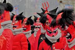 J'ai rencontré le diable (blogspfastatt (+5.000.000 views)) Tags: blogspfastatt bâle basel fasnacht carnaval red rouge couleur colour