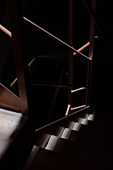 Escaleras - Stairs (rvallafoto) Tags: darkness dark stairs abstract longexposure