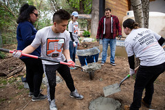 Alternative_Break_20190319_0026_1 (Sacramento State) Tags: sacramentostate sacstate californiastateuniversitysacramento universitycommunications hornets jessicavernone alternative break spring volunteer community engagement center solar house living building concrete