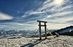 Auf dem Mittag-Berg im Oberallgäu (Bajadere) Tags: winter allgäu berge alpen