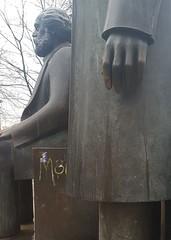 Marx and Engels (cn174) Tags: berlin berlin2019 germany deutschland ber winter grey dismal marx engels
