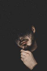 Head in the Dark | 1 (_ALBX_) Tags: indoor studio makeup creative conceptual selfportrait man portrait photography photographer surrealist canon canon80d sigma 30mm albxphoto albx art