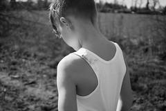 Stadtkind (NEVEZ P★) Tags: nevezphotography 30mm sony model dof berlin germany portrait fineart art childhood film kindheit blackandwhite bnw bw sw bokeh light contrast people tree field feld baum gras himmel