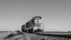 ChME3-6113 (Pavel888) Tags: тепловоз локомотив маневровый 582км россия ржд деревня ювжд russia rzd fujifilm fujinon acros xf27mm chme3 chme36113 6113 чмэ3 чмэ36113 xt2