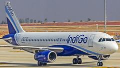 Indigo Airbus A320 VT-IGY Bangalore (BLR/VOBL) (Aiel) Tags: indigo airbus a320 vtigy bangalore bengaluru canon60d tamron70300vc