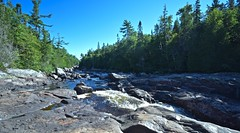 SAND RIVER NEAR LAKE SUPERIOR and WAWA ON CANADA, LOOKING UPSTREAM, ACA PHOTO (alexanderrmarkovic) Tags: sandriver ontario canada acaphoto wawa hwy17north
