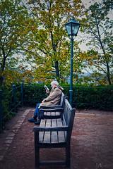 DSC_0932 (mkollerov) Tags: old man book happy brno czech 2017 autumn moment martinakollerová