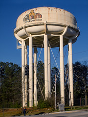 Big gulp (cizauskas) Tags: tower watertower cistern decatur georgia