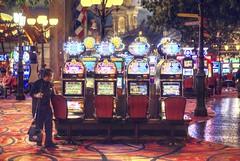 Time for cleaning (PeterThoeny) Tags: parislasvegas lasvegas lasvegasstrip nevada usa casino indoor janitor sony a6000 sel50f18 2xp raw photomatix hdr qualityhdr qualityhdrphotography fav100