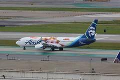 B737 N531AS Los Angeles 21.03.19 (jonf45 - 5 million views -Thank you) Tags: airliner civil aircraft jet plane flight aviation lax los angeles international airport b737 737 alaska airlines boeing 737890w n531as