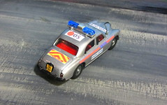 Corgi Toys Riley Pathfinder Police No. 209 Built From 1958 - 1962 Restored And Converted Into A Modern London Metropolitan Police Car : Diorama British Tower Blocks - 7 Of 23 (Kelvin64) Tags: corgi toys riley pathfinder police no 209 built from 1958 1962 restored and converted into a modern london metropolitan car diorama british tower blocks