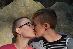 Rachel (katarinakadijevic) Tags: queer lgbtq autumn couple woman women love passion lesbian forest woods nature god spiritual sun plants humans portrait feminism feminist