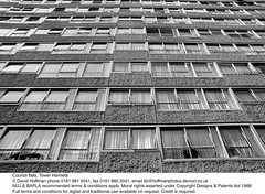 Block Of Flats LBTH (hoffman) Tags: anonymous concrete curtains estate flats homes horizontal housing towerblock windows davidhoffman wwwhoffmanphotoscom london uk