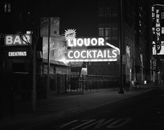 Liquor and Cocktails (podolux) Tags: 2019 april2019 sony sonya7 a7 sonyilce7 ilce7 lasvegas nevada nv clarkcounty night nighttime sign signs aromicliquors streetphoto street