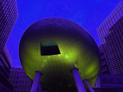 Recharge in the blue hour (dylanawol66) Tags: asia hongkong hk china architecture abstract color colour cool