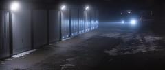 Uppsala, March 7, 2019 (Ulf Bodin) Tags: uppsala sverige winter mist sweden outdoor panorama dimma salabackar kväll salabacke canonef100400mmf4556lisiiusm car vinter carport canoneosr night garage uppsalalän se