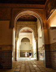 Exploring the ancient Andalucían palace-fortress in Seville Spain (Gail K E) Tags: españa spain sevilla seville palace fortress alcazar royalalcazarofseville architecture mudejar europe beautiful andalucia