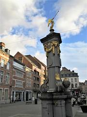 Angel pump at Place de l'Ange, Namur, Belgium (Paul McClure DC) Tags: namur namen belgium belgique wallonia wallonie ardennes feb2018 historic architecture