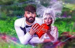Our marriage is soon ..... February 14 (СОВА) Tags: night bouquet wedding sl meitreya signature catwa 14februar love liebe er sie girl boy man frau mesh meshavatar summer happiness schön