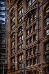 Rookery (gantert) Tags: chicago urban architecture city cityscape windows rookery brown