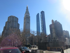 2019 Pencil Towers of Madison Square Park NYC 1523 (Brechtbug) Tags: pencil towers madison square park 2019 nyc 02162019 new york city center right the 1909 built metropolitan life clock tower building metlife 2017 2010 one obelisk monument worth honoring general william jenkins 1794 – 1849 dating from 1857 1950 north