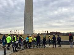 Presidents' Day Ride 2019 (Mr.TinDC) Tags: people friends cyclists biking washingtonmonument themall nationalmall dc washingtondc