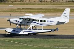 VH-MOX Cessna 208 Caravan (johnedmond) Tags: perth ypjt westernaustralia jandakot jad cessna c208 caravan seaplane floatplane australia aviation aircraft aeroplane airplane plane canon eos7d ef100400mmf4556lisiiusm