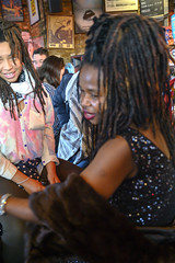 DSC_0869 (photographer695) Tags: susie from sierra leone west africa with dreadlocks alesha jamaican lady portrait the haggerston pub kingsland road london ladies friend