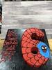 (backhomebakerytx) Tags: 6 sixth 6th birthday spiderman cutout cake back home bakery backhomebakery